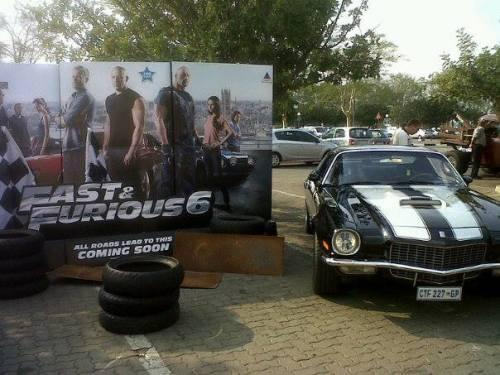 Riaan's Camaro @ Fast & Furious 6 premiere, Kolonnade Mall