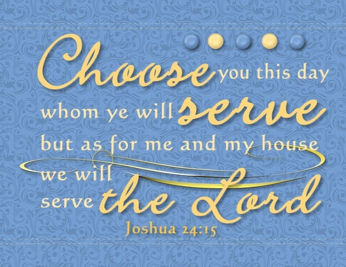 Joshue 24:15