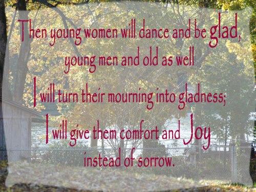Jeremiah 31:13