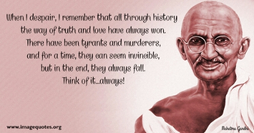 Ghandi Quote Gorgeous Inspiration Mahatma Ghandi Quote This One Life