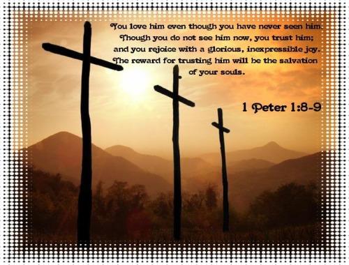 1 Peter 1:8-9
