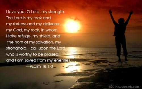 Psalm 18:1-3