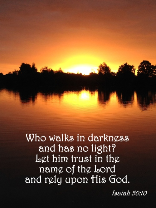 Isaiah 50:10
